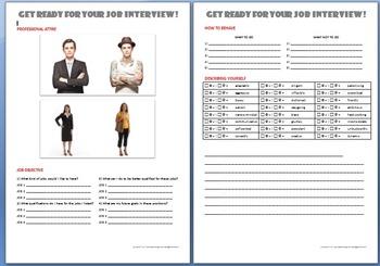 Job Interview Activity (Basic level)