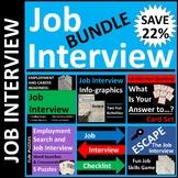 Job Interview Activities Bundle for Classroom or Distance