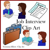 Clip Art - Career Counseling Job Interview - Realistic