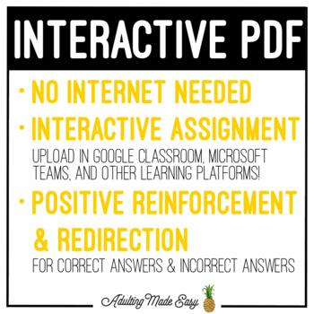 Job Interview Digital Interactive Activity Career Vocation Skills