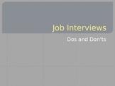 Job Interview PowerPoint Presentation