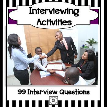 Job Interview Skills Activities