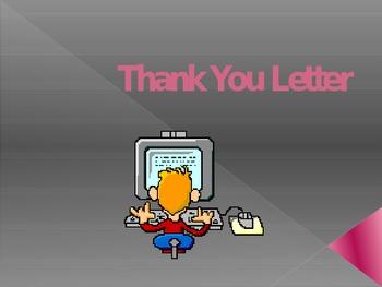 Job Interview-Thank You Letter, Employment, Job