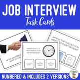 Job Interview Task Cards