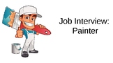 Job Interview for a painter (Canadian interview)