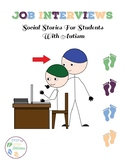 Job Interviews:  Social Stories For Students With Autism