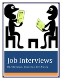 Job Interviews with Lesson Plan - ESL ESOL Workplace