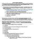 Job Research assignment and template