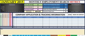 tracking job search
