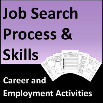 Job Search Process and Skills Activities