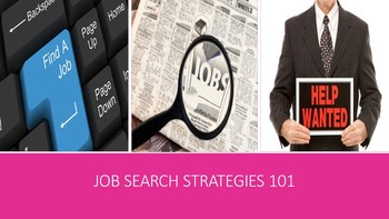 Job Search Strategies 101