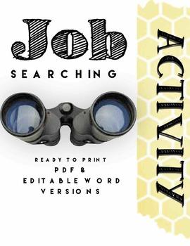 Job Searching Activity