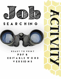 Job Searching Activity