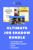 Job Shadow Bundle (editable templates, presentation, scave
