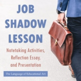 Job Shadow Lesson (Notetaking Activities, Reflection Essay, and Presentation)