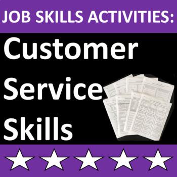 Job Skills Activities: Customer Service Skills