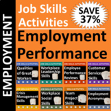 Job Skills Activities: Employment Performance BUNDLE