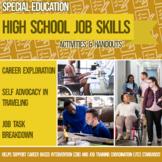 Job Skills Activities & Handouts: Career Exploration, Self