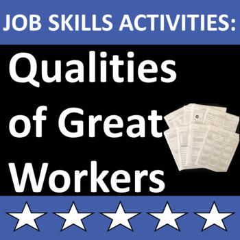Job Skills Activities: Qualities of Great Workers