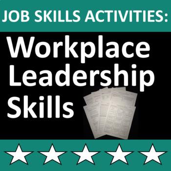 Job Skills Activities: Workplace Leadership Skills