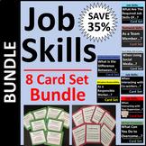 Job Skills Card Set BUNDLE