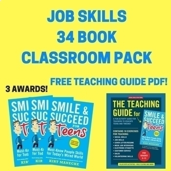 Job Skills Bundle: Teachers' Choice Award-Winning Books