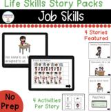 Job Skills Digital Story Packs  (Boom Learning Included)