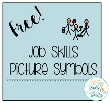 Job Skills: Picture Symbols Freebie