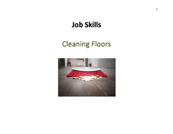 Job Skills - Sweeping