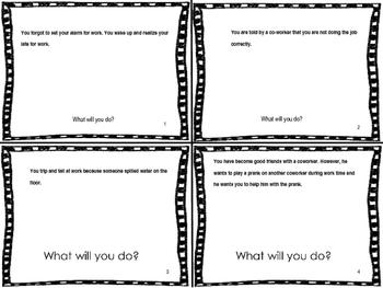 Job Skills Task Cards