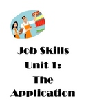 Job Skills Unit : The Application for Special Ed Students