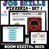 Job Skills- WORKING IN A PIZZERIA- SET 1-  BOOM Digital Ta