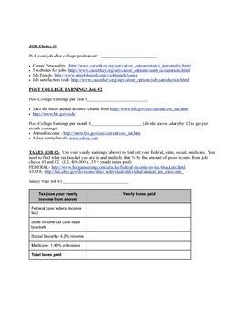 Job & Taxes Unit