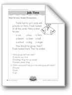 Job Time (classifying nouns)