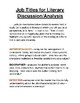 Job Titles for High School Literary Analysis