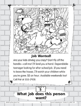 Job Wanted: A Baby-Sitter