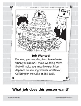 Job Wanted: A Baker