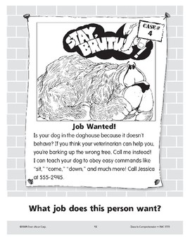 Job Wanted: A Dog Trainer
