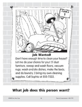 Job Wanted: A Housekeeper