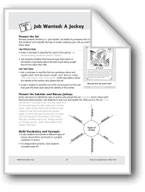 Job Wanted: A Jockey