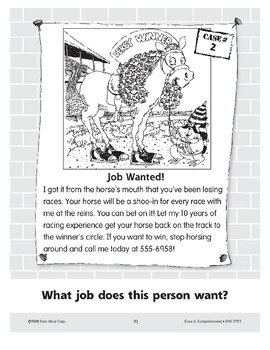Job Wanted: A Jockey