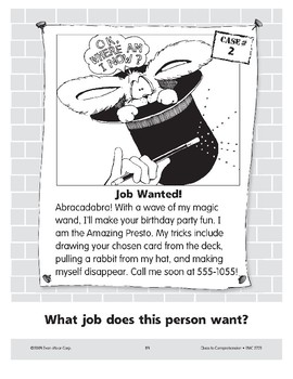 Job Wanted: A Magician