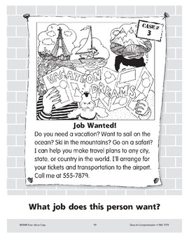 Job Wanted: A Travel Agent