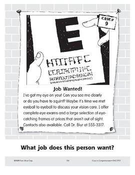 Job Wanted: Optometrist