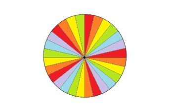 Job Wheel - 28 Students Rainbow