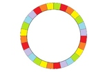 Job Wheel - 28 Students Rainbow