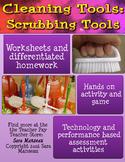 Job and Life Skills Lessons: Scrubbing Tools Unit