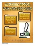 Job and Life Skills: Vacuum Cleaner File Folder Activities