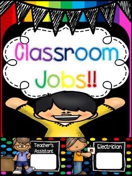 Job cards (Rainbow Theme)