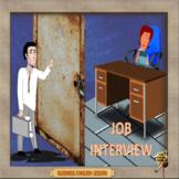 Job interview – Business English - ESL adult conversation classes